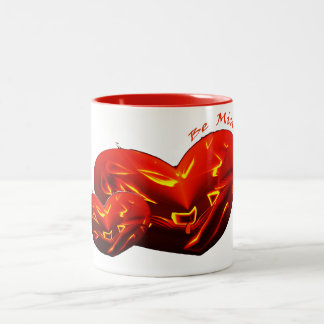 ☼ Be My Valentine ☼ Two-Tone Coffee Mug