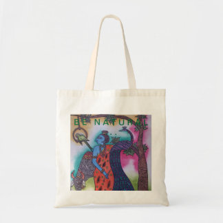 BE NATURAL ... TOTE BAG