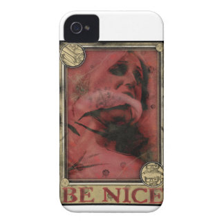 Be Nice iPhone 4/4S Case Mate Barely There