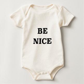 Be Nice (spread the word) Baby Bodysuit