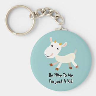 Be Nice To Me, I'm Just A Kid Key Chain
