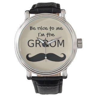 Be Nice to Me I'm the GROOM Watch