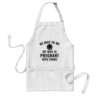Be Nice To Me Standard Apron