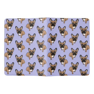 Be nice to the cute black mask fawn Frenchie Extra Large Moleskine Notebook