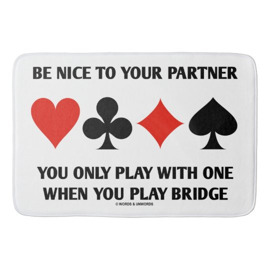 Be Nice To Your Partner You Only Play With One Bath Mat