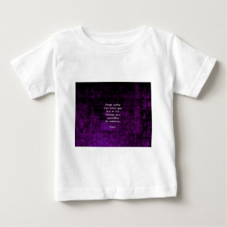 Be Notorious Rumi Inspirational Quote Baby T-Shirt