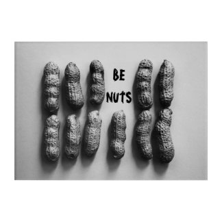 """Be Nuts"" Peanut Art Photograph"