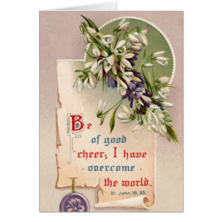 Be Of Good Cheer Card