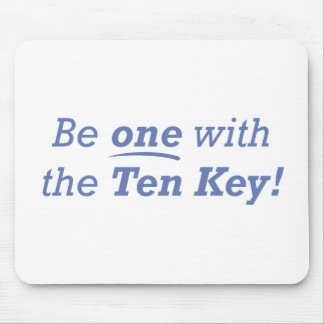 Be one with the Ten Key! Mouse Pad
