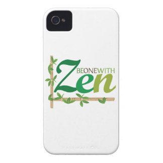Be One With Zen iPhone 4 Cases