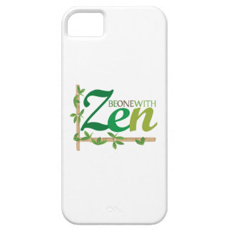 Be One With Zen iPhone 5/5S Covers