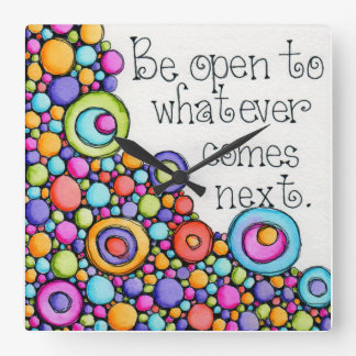 Be Open Wallclocks