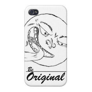 Be Original- Custom IPhone 4/4S Case
