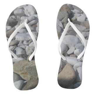 be original with stone Slim Straps Flip Flops
