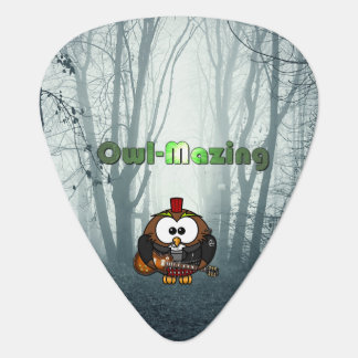 Be Owl-Mazing and POW! Guitar Pick