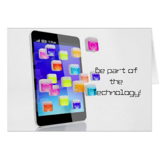 Be part of Technology Greeting Card