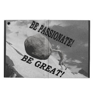 Be Passionate! Be Great! Design iPad Air Covers