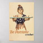 Be Patriotic: Crochet - poster