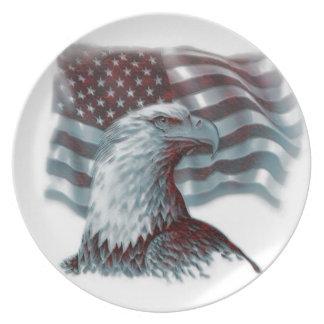 Be Patriotic Plate