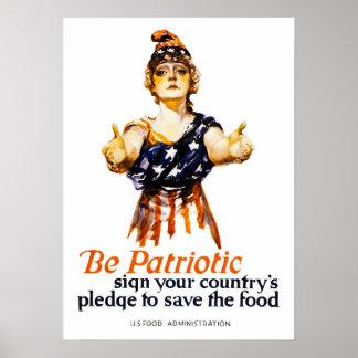 Be Patriotic Poster