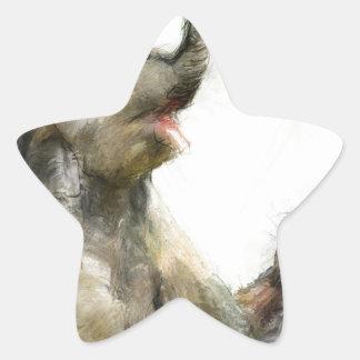 be playful star sticker