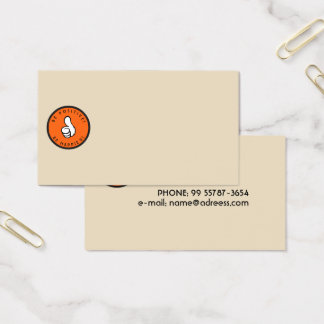 Be positive! Be happier! Business Card
