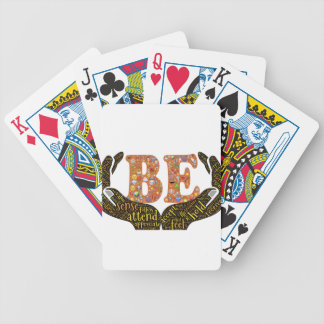 Be positive poker deck