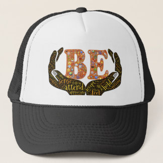 Be positive trucker hat