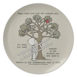 Be Prepared Plate