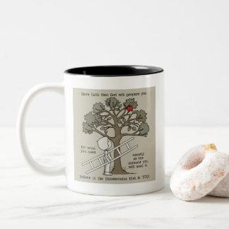 Be Prepared Two-Tone Coffee Mug