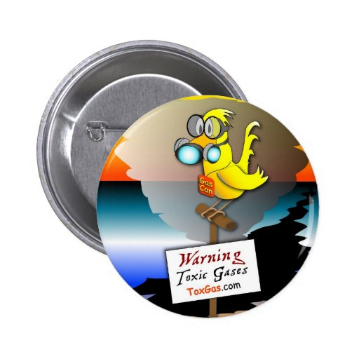 "Be Prepared with ""Gas Can"" Pin"