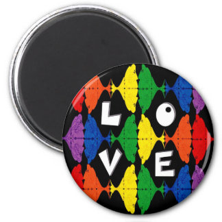 Be Proud of who you are 2 Inch Round Magnet