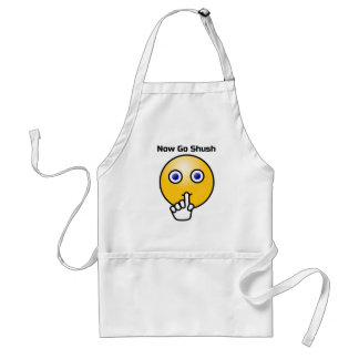Be Quiet and Go Shush Standard Apron