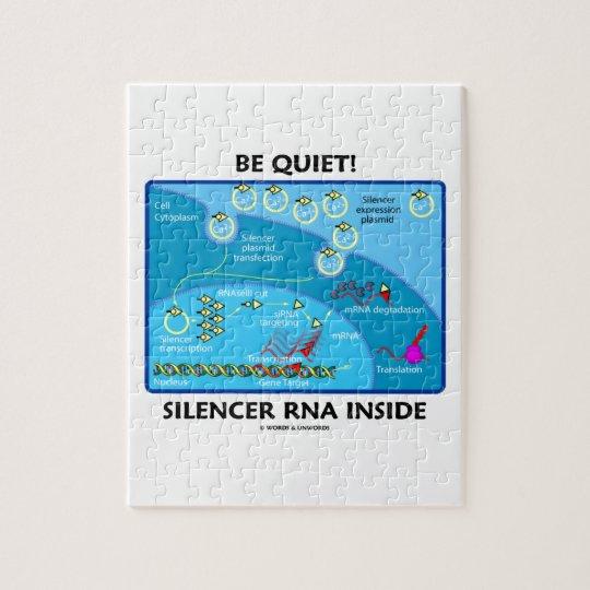 Be Quiet! Silencer RNA Inside (Molecular Biology) Jigsaw Puzzle