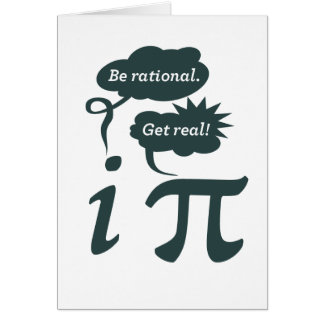 be rational! get real! card