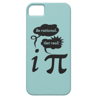 Be rational. Get Real! iPhone 5 Cover