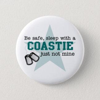 Be safe Coastie 2 Inch Round Button