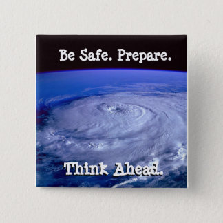Be Safe Hurricane Button
