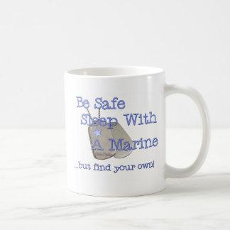Be Safe Sleep With Classic White Coffee Mug