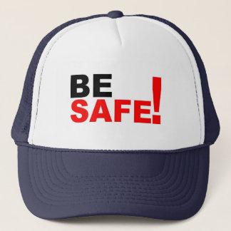 Be safe trucker hat
