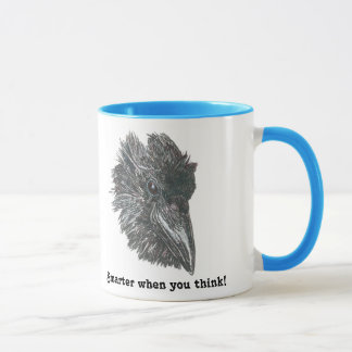 Be smarter when you think with this Raven Mug! Mug