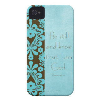 Be Still and Know Bible Verse iPhone 4 Case-Mate Case