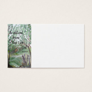 """Be Still and Know"" Card that Leaves a Witness"