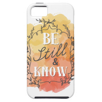 Be Still and Know Case For The iPhone 5