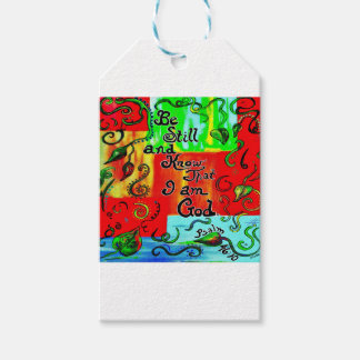 BE STILL AND KNOW GIFT TAGS
