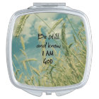 Be Still and Know I am God Bible Verse Vanity Mirror