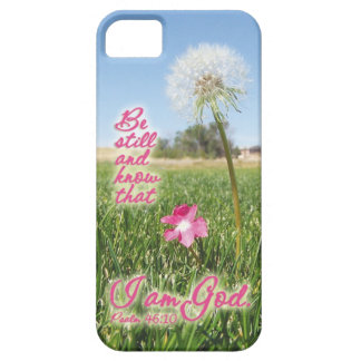 Be Still and Know Psalm 46:10 Bible Verse Quote Case For The iPhone 5