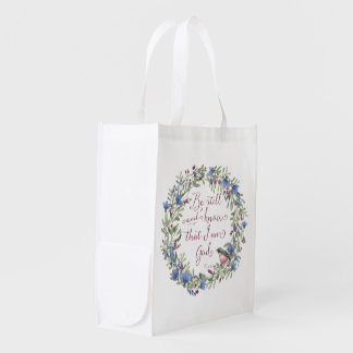 Be Still and Know - Psalm 46:10 Grocery Bags