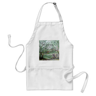 Be  Still and Know Standard Apron