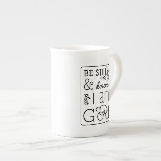 Be still and know that I am God Bible Verse Mug